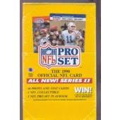 1990 Pro Set Series 2 Football Wax Box (Reed Buy)