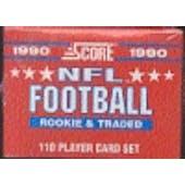 1990 Score Supplemental Football Factory Set (Reed Buy)