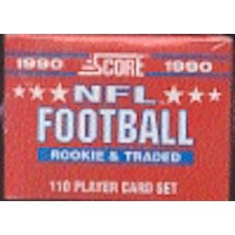 1990 Score Supplemental Football Factory Set