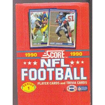 1990 Score Series 1 Football Wax Box