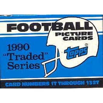 1990 Topps Traded Football Factory Set