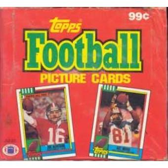1990 Topps Football Cello Box