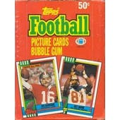 1990 Topps Football Wax Box (Reed Buy)