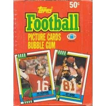 1990 Topps Football Wax Box