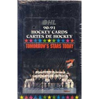 1990/91 7th Inning Sketch OHL Hockey Wax Box