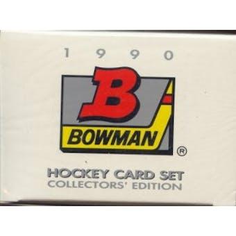 1990/91 Bowman Tiffany Hockey Factory Set