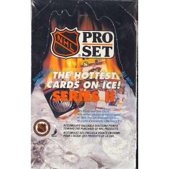 1990/91 Pro Set Series 2 Canadian Hockey Hobby Box
