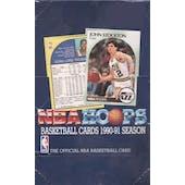 1990/91 Hoops Series 1 Basketball Wax Box