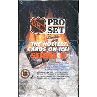 1990/91 Pro Set Series 2 Hockey Wax Box