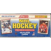 1990/91 Score U.S. Hockey Factory Set (Reed Buy)