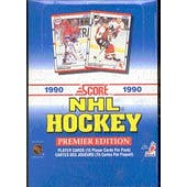 1990/91 Score U.S. Hockey Wax Box (Reed Buy)