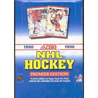 1990/91 Score U.S. Hockey Wax Box