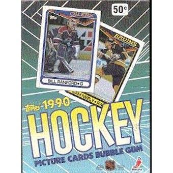 1990/91 Topps Hockey Wax Box