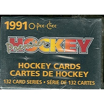 1990/91 O-Pee-Chee Premier Hockey Factory Set (Reed Buy)