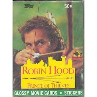 Robin Hood: Prince of Thieves Wax Box (1991 Topps)