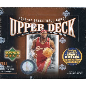 2006/07 Upper Deck Basketball 24-Pack Box