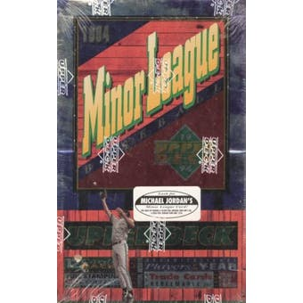 1994 Upper Deck Minor League Baseball Hobby Box