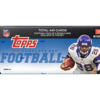 2010 Topps Factory Set Football Hobby (Box) (Reed Buy)