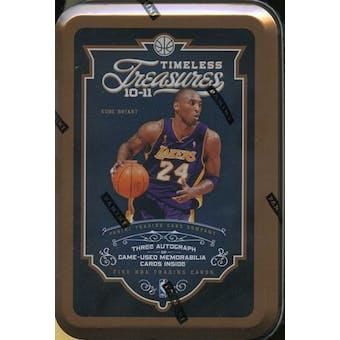 2010/11 Panini Timeless Treasures Basketball Hobby Box