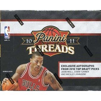 2010/11 Panini Threads Basketball Hobby Box