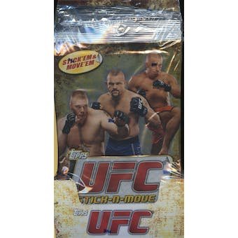 2010 Topps UFC Stick-N- Move 20-Pack Box