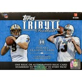 2010 Topps Tribute Football Hobby Box