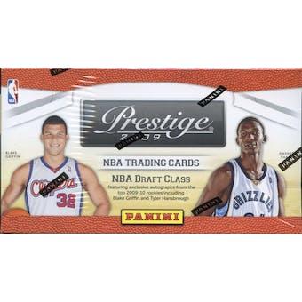 2009/10 Panini Prestige Basketball 8-Pack Box