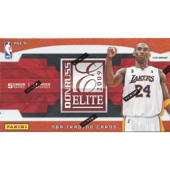 2009/10 Panini Elite Basketball 8-Pack Box