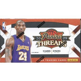 2009/10 Panini Threads Basketball 8-Pack Box