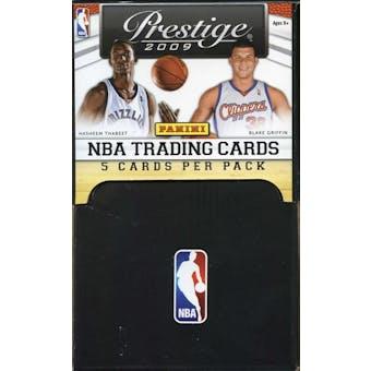2009/10 Panini Prestige Basketball 36-Pack Gravity Feed Box