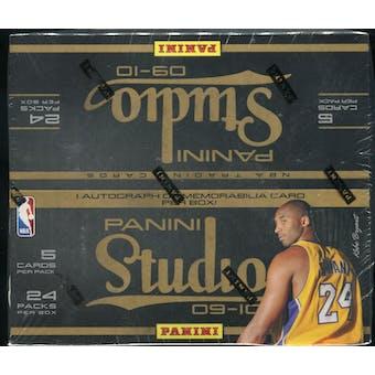2009/10 Panini Studio Basketball Retail Box