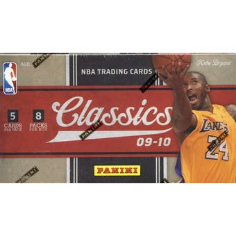 2009/10 Panini Classics Basketball 8-Pack Box