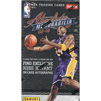 2009/10 Panini Absolute Memorabilia Basketball 8-Pack Box