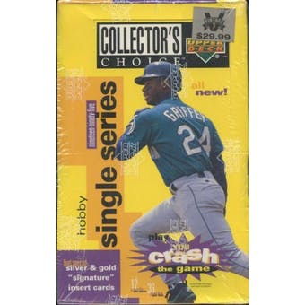 1995 Upper Deck Collector's Choice Baseball Hobby Box
