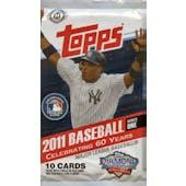 2011 Topps Series 1 Baseball Hobby Pack