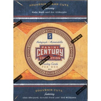 2010 Panini Americana Century Collection Hobby Box