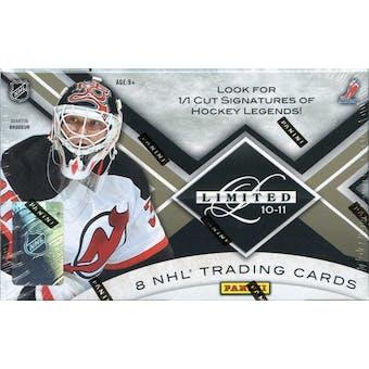 2010/11 Panini Limited Hockey Hobby Box