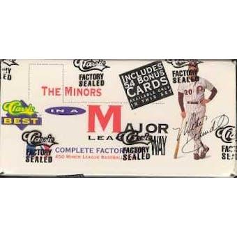 1991 Classic Best Minors Baseball Factory Set