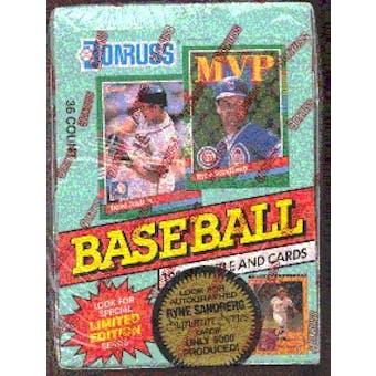 1991 Donruss Series 2 Baseball Wax Box