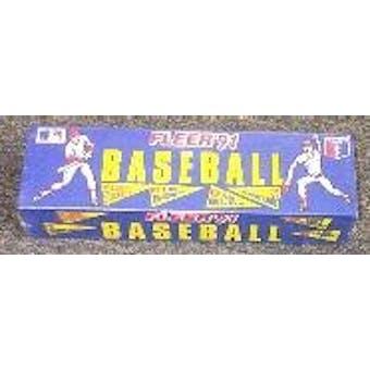 1991 Fleer Baseball Factory Set