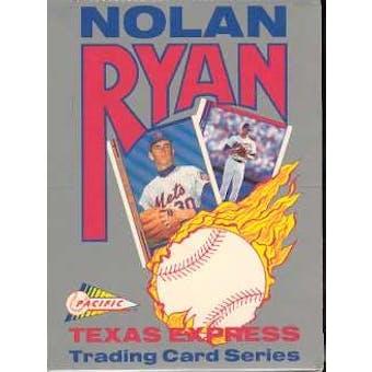 1991 Pacific Nolan Ryan Baseball Wax Box
