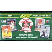 1991 Score Baseball Factory Set