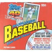 1991 Topps Baseball Rack Box (Reed Buy)