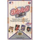 1991 Upper Deck Hi # Baseball Wax Box
