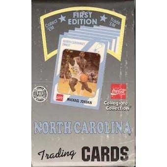1989/90 Collegiate Collection North Carolina Basketball Hobby Box - Jordan!