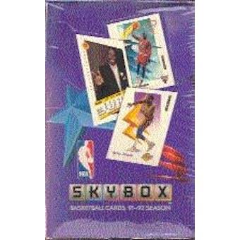 1991/92 Skybox Series 1 Basketball Hobby Box