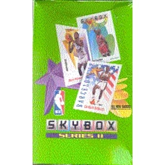 1991/92 Skybox Series 2 Basketball Hobby Box