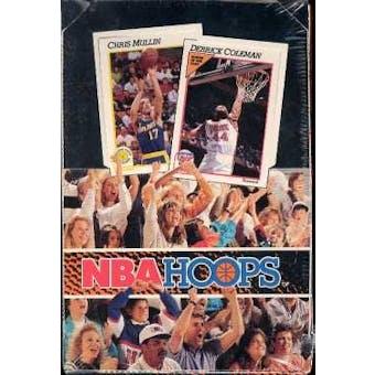 1991/92 Hoops Series 1 Basketball Wax Box