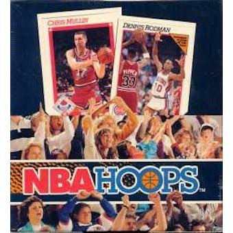 1991/92 Hoops Series 1 Basketball Rack Box