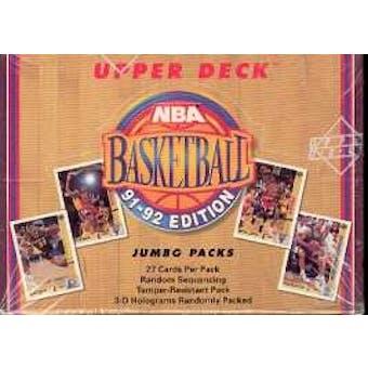 1991/92 Upper Deck Low # Basketball Jumbo Box
